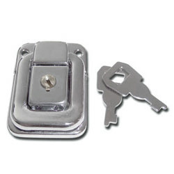 Case Lock Chrome Plated