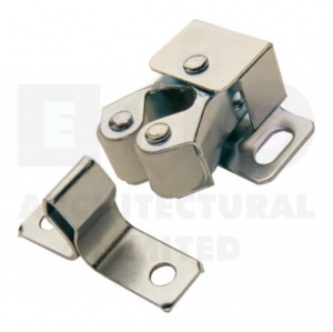 Double Roller Catch Zinc Plated