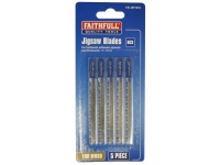 Faithfull Jigsaw Blades Set of 10 assorted Blades