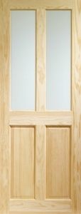 Internal Clear Pine Victorian with Clear Glass or Unglazed