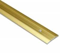 Carpet Cover Strip 900mm Gold finish Aluminium