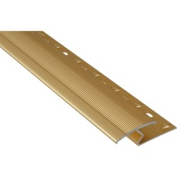 Carpet / Laminate Joining Strip 900mm Gold finish Aluminium