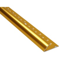 Carpet Edge Strip 900mm Gold finish Aluminium