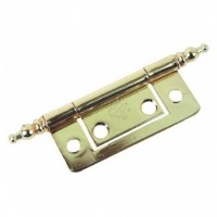 2.5'' Finial Hinges Electroplated Brass Pair