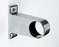 Rothley Long Centre Brackets Chrome Finish 32mm