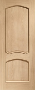 Internal Oak Louis Door