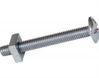 M6 x 50mm Roofing Bolt and Nut
