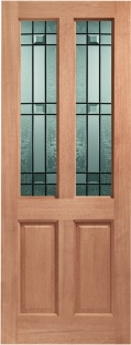 Malton External Hardwood Door - Drydon Glass