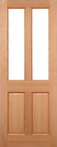 External Hardwood Malton Clear Glazed Door