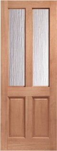 Malton External Hardwood Door With Obscure Glass