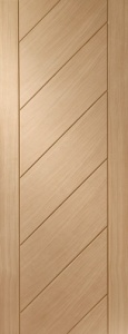 Internal Oak Monza Door