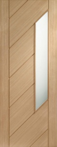 Internal Oak Monza Glazed Door