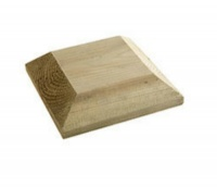 115mm x 115mm (4.5'' x 4.5'') Treated Newel Cap (finished size)