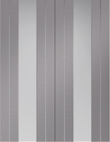 Internal Pre-Finished Forli Light Grey Door Pairs