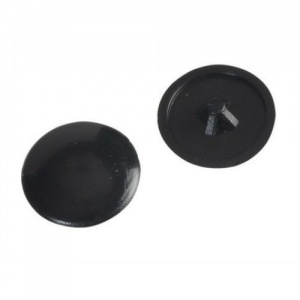 Black Pozi Drive Cover Cap (Pack of 50)