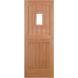 Stable External Hardwood Door 1 Light