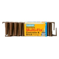 Plasplugs Standard Multi-Fix Wall Fixings (40)