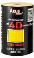 Aluminium Oxide Paper 40 grit (Ultra Course) 5m Roll