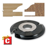 Trend Style C Ogee 6mm Groove 30mm Bore