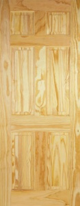 Internal Clear Pine 6 Panel Door