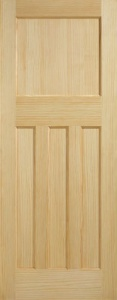 Internal Radiata Pine DX30's Style Door