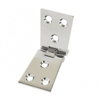 4'' Polished Chrome Counter Hinge