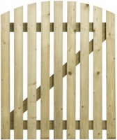 Wicket Curve Top Gate