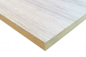 Crown Cut Oak Veneered MDF 19mm