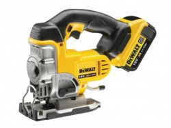 Dewalt DCS331 XR Premium Jigsaw 18V Kitbox with 2 x 4Ah Li-Ion Batteries