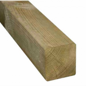 100mm x 100mm (4'' x 4'') Treated Post Easy Edge (Finished Size 90mm x 90mm)