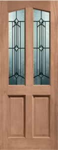 External Hardwood Richmond Door with Donne Glass