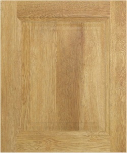 Glebe Natural Oak Solid Timber Shaker Style Doors