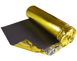 UniBase Gold Foam Wood Flooring Underlay 10m x 1m x 3mm Roll