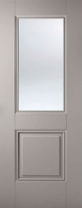 Internal Primed Grey Arnhem Glazed Door