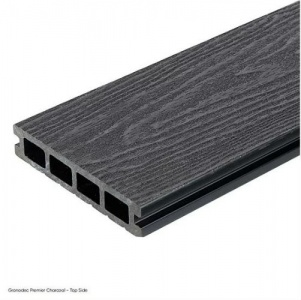 Gronodec Premier Composite Decking Board 3.6m - Charcoal