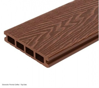 Gronodec Premier Composite Decking Board 3.6m - Coffee