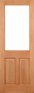 External Hardwood 2XG 2 Panel Door