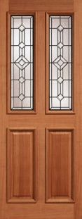 External Hardwood Derby Leaded Door