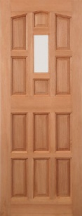 External Hardwood Elizabethan Door