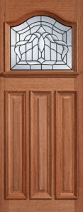 External Hardwood Estate Crown Door