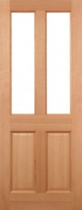 External Hardwood Malton Unglazed Door