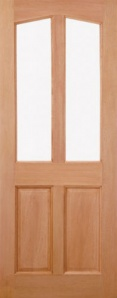 External Hardwood Richmond Unglazed Door