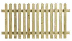 Henley Picket Fence Panel 1800mm x 1200mm
