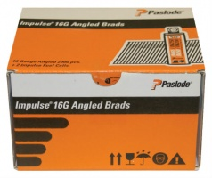 PASLODE 16G 32mm GALVANISED ANGLED BRADS FUEL PACK