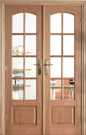 Internal Oak Worthing W4 Room Divider