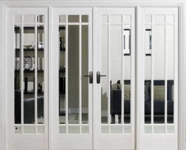Internal White Manhattan W8 Room Divider