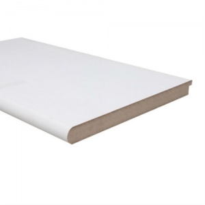 25mm x 294mm (12'') Pre-Primed White MDF Window Board