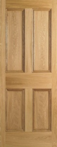Internal Oak 4 Panel Door