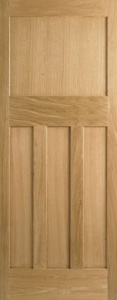 Internal Oak DX 30's Style Door