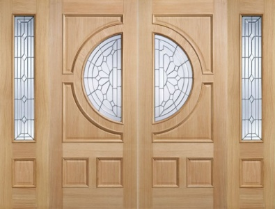 External Oak Empress Door